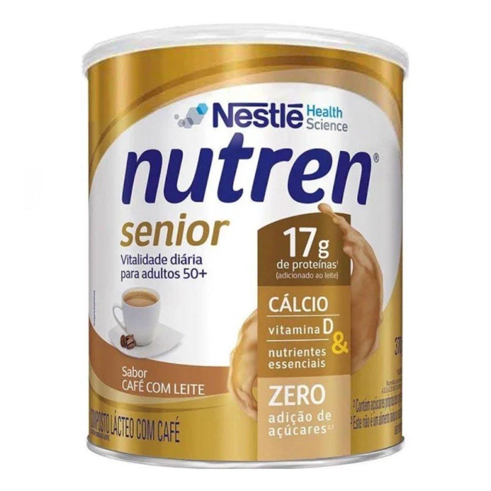NUTREN SENIOR SABOR CAFÉ COM LEITE 370G - NESTLÉ