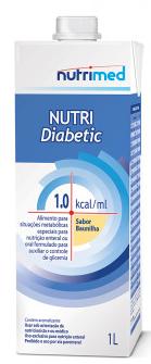 NUTRI DIABETIC 1.0 1000ML - NUTRIMED
