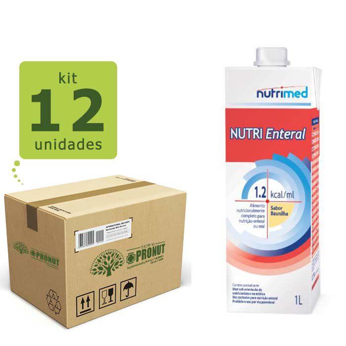 NUTRI ENTERAL 1.2 KCAL/ML (KIT COM 12 LITROS) - DANON