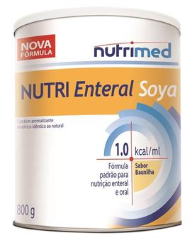 NUTRI ENTERAL SOYA 1.0KCAL/ML 800G - NUTRIMED