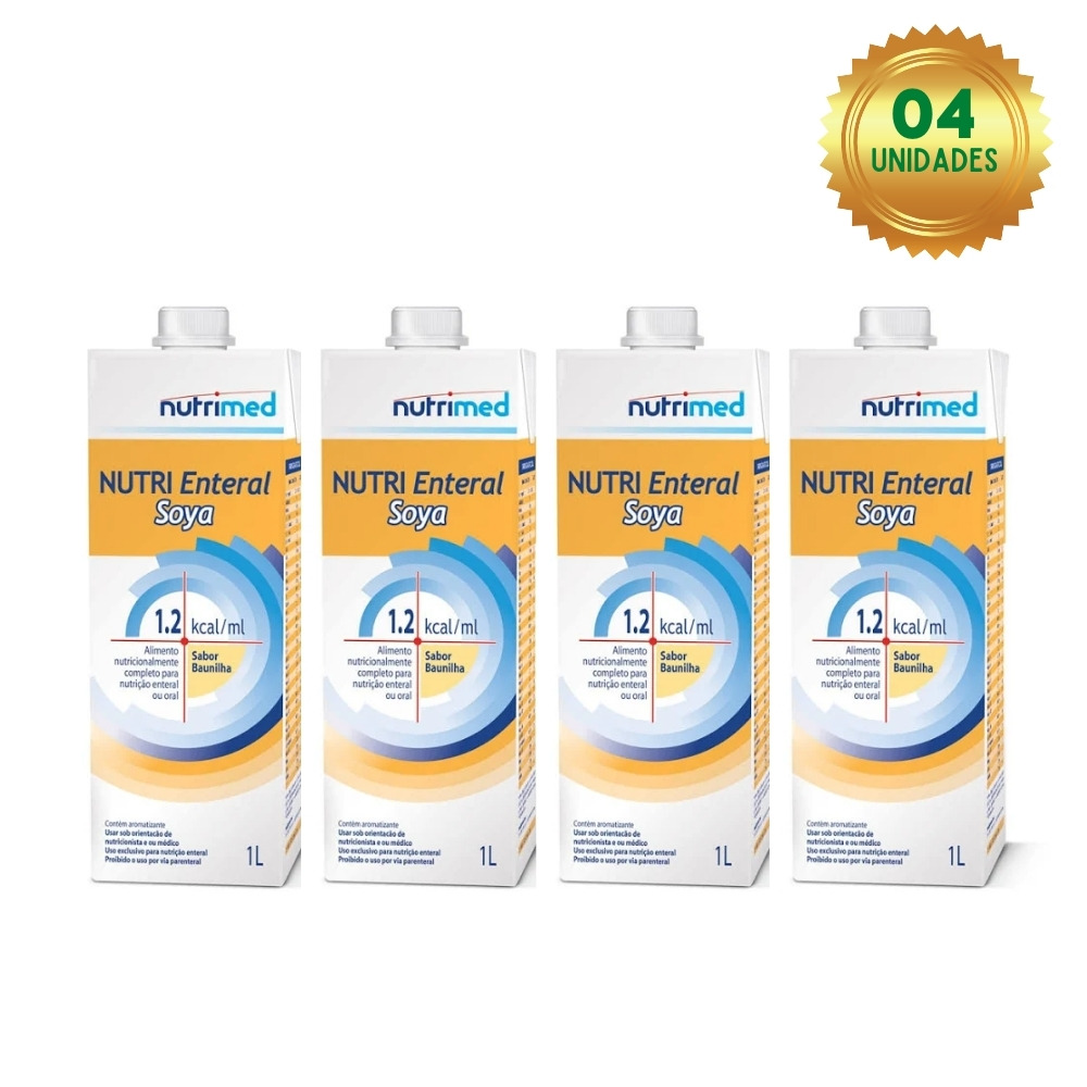 NUTRI ENTERAL SOYA 1.2 KCAL/ML (CX C/04 UNDS) - NUTRIMED