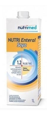 NUTRI ENTERAL SOYA 1.2 KCAL/ML (CX C/04 UNDS) - NUTRIMED
