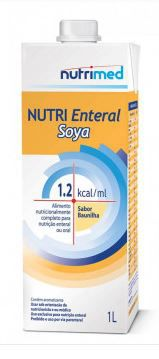 NUTRI ENTERAL SOYA 1.2 KCAL/ML (CX C/08 UNDS) - NUTRIMED