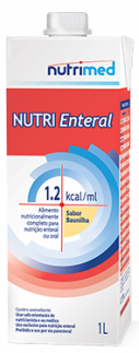 NUTRI ENTERAL SOYA 1.2KCAL/ML 1000ML BAUNILHA  - NUTRIMED