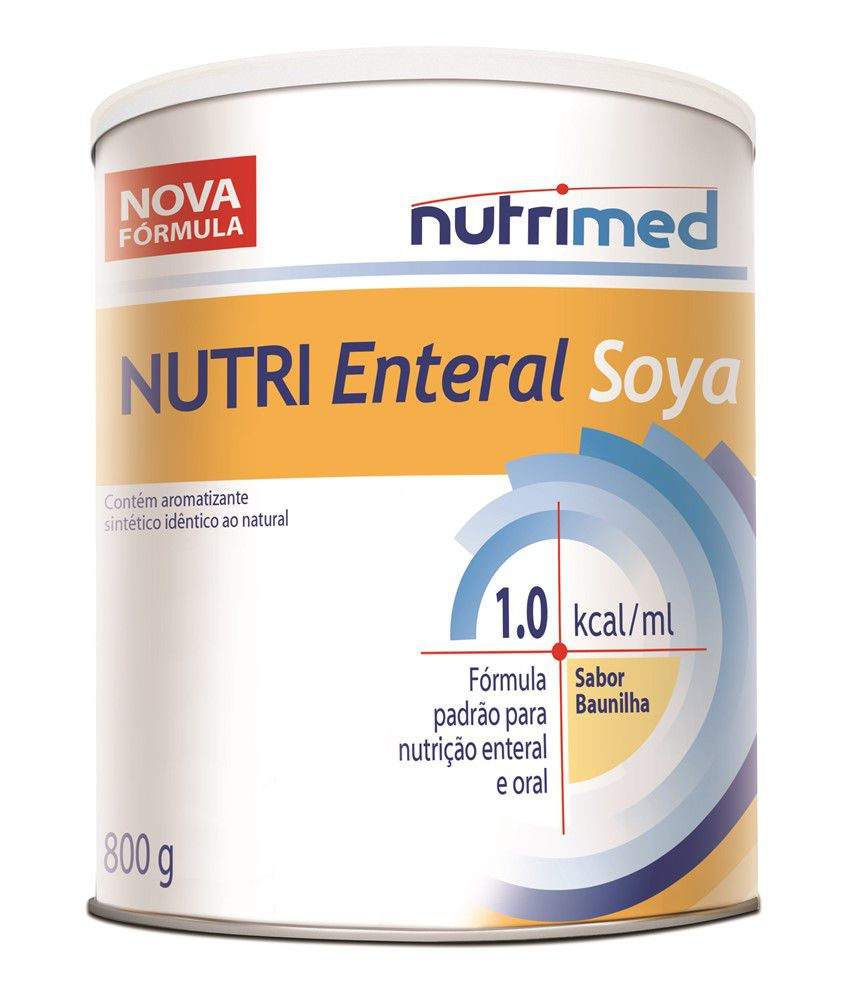 NUTRI ENTERAL SOYA PÓ 800G 1.0KCAL/ML - NUTRIMED