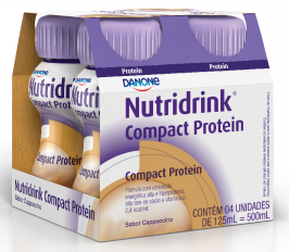 NUTRIDRINK COMPACT CAPUCCINO (4XPB 125ML) - DANONE ENTERAL