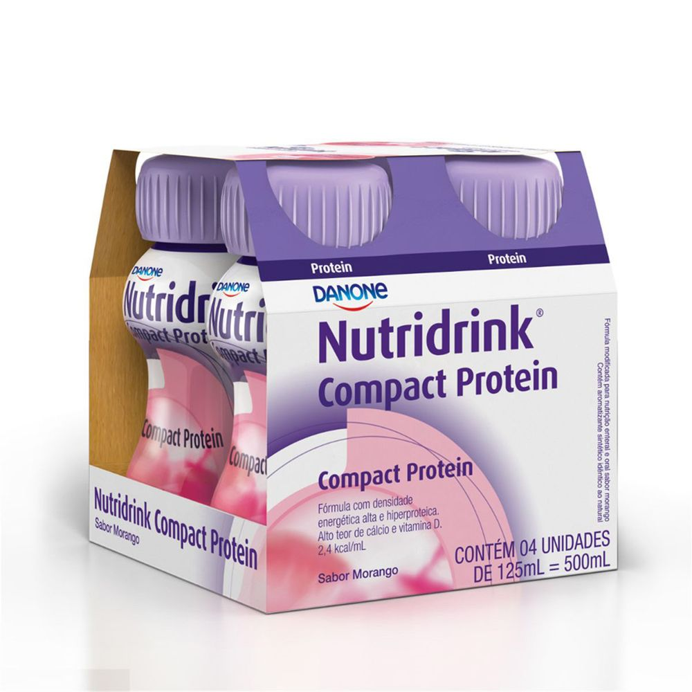 NUTRIDRINK COMPACT PROTEIN MOR (4XPB125ML) - DANONE ENTERAL