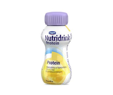 NUTRIDRINK PROTEIN BAUNILHA 200ML - DANONE