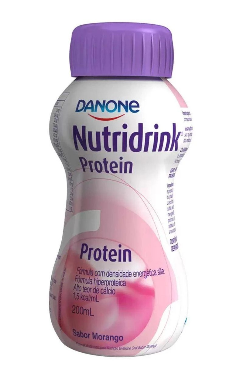 NUTRIDRINK PROTEIN MORANGO 200ML - DANONE