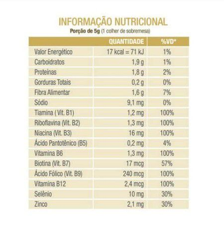 NUTRITIONAL YEAST LEVEDURA NUTRICIONAL 200G - VEGANWAY