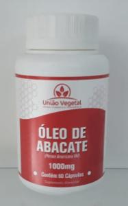 OLEO DE ABACATE 60 CAPS 1000MG - UNIAO VEGETAL