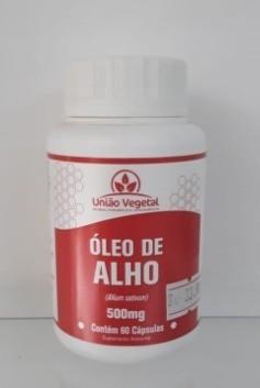 OLEO DE ALHO 60 CAPS 400MG - UNIAO VEGETAL