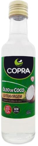 OLEO DE COCO EXTRA VIRGEM 250ML COPRA
