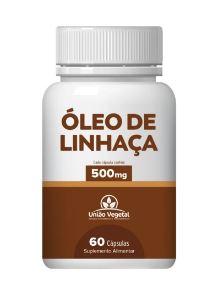 ÓLEO DE LINHAÇA 60CAPS - UNIÃO VEGETAL