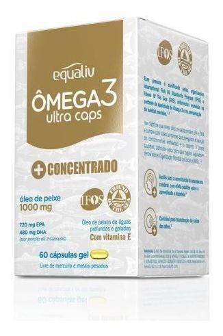 OMEGA3 ULTRA CAPS  C/60 CAPS - EQUALIV