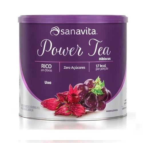 POWER TEA HIBISCUS UVA 200G - SANAVITA