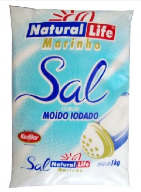 SAL MARINHO MOIDO 1KG - NATURALLIFE