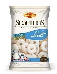 SEQUILHOS LEITE 100G - NAZINHA