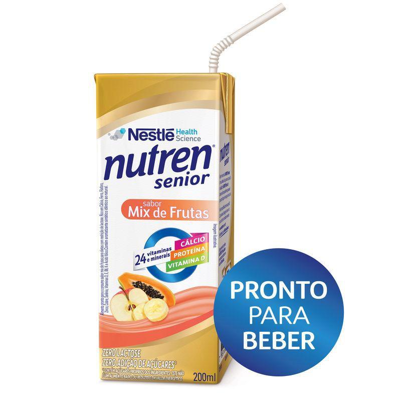 SUPLEMENTO ALIMENTAR NUTREN SENIOR MIX DE FRUTAS 200 ML - NESTLÉ