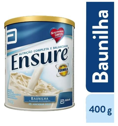 Suplemento Ensure baunilha 400g (cx c/3) - Abbott