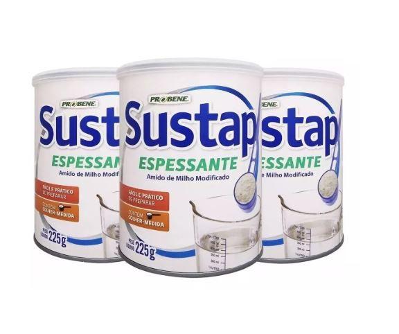 SUSTAP ESPESSANTE (KIT 3 UNIDADES) 225G - PROBENE