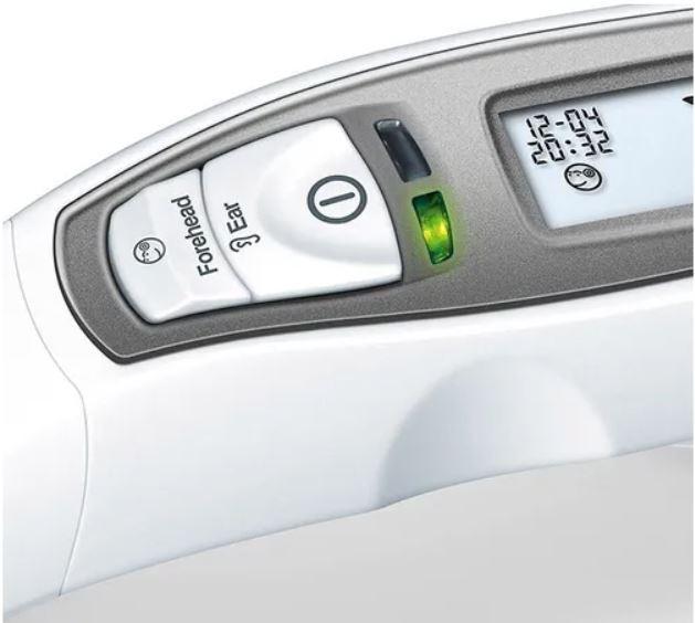 Termômetro Clínico Infravermelho Testa E Orelha Beurer FT 65 - Beurer
