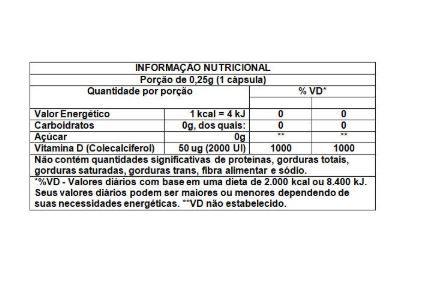 TRATEDÊ 2.000UI C/30 CAPSULAS - EQUALIV
