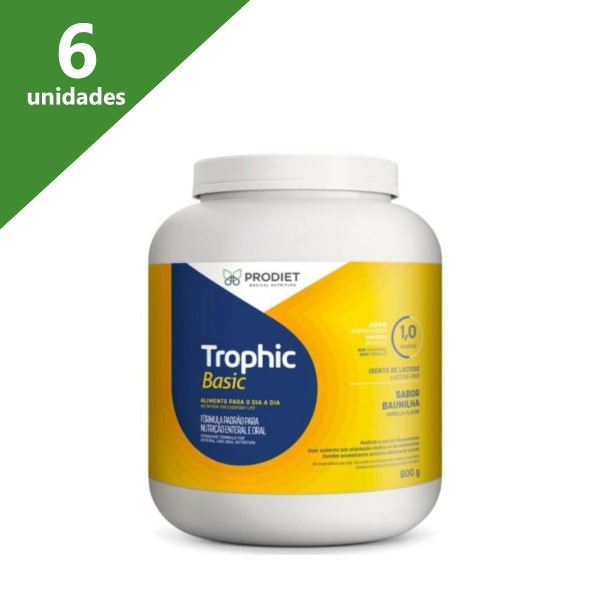 TROPHIC BASIC 800GR (KIT C/06 UNDS) - PRODIET
