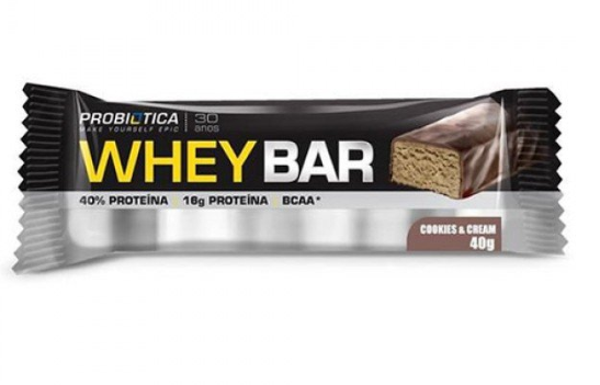 WHEY BAR COOKIES AND CREAM 40G - PROBIOTICA