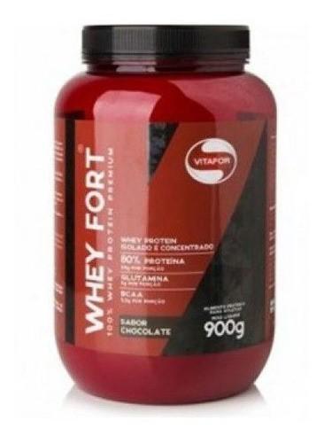 Whey Fort chocolate 900g- Vitafor