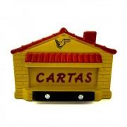 CAIXA P/CORREIO EMB/SOB PVC AMAR. F GERAIS