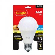 LAMPADA LED A60 AUTO-VOLT 6,5W 6000K E-27 G-LIGHT