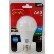 LAMPADA LED A60 AUTO-VOLT 9W 6500K E-27 G-LIGHT