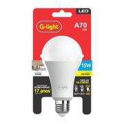 LAMPADA LED A70 AUTO-VOLT 15W 6500K E-257 G-LIGHT