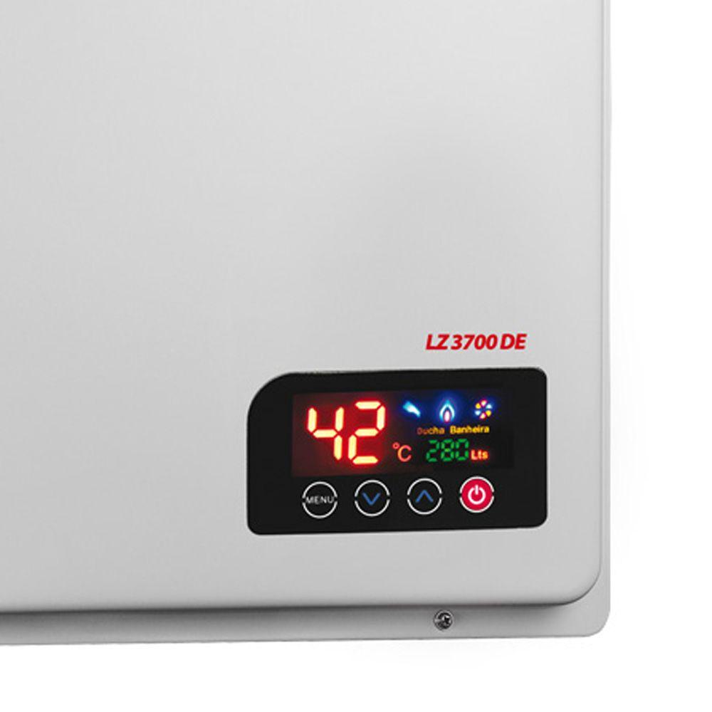 AQUECEDOR A GAS LZ 3700D ELETR.36,5L/M  LORENZETTI1