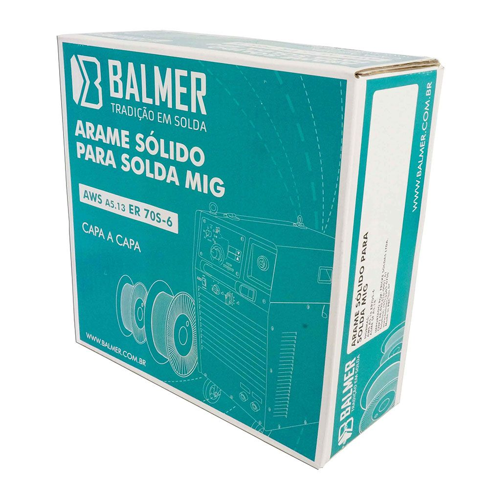 ARAME MIG 0.80MM (ROLO COM 5KG) 30005904 BALMER