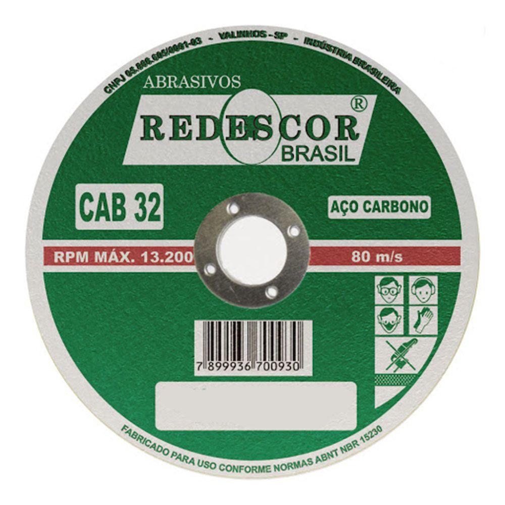 """DISCO CORTE P/FERRO  12""""X1/8X1""""    S13 REDESCOR"""