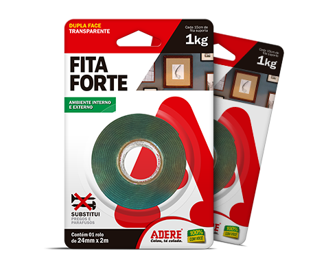 FITA DUPLA FACE 24MM  X 2 MT  ADERE