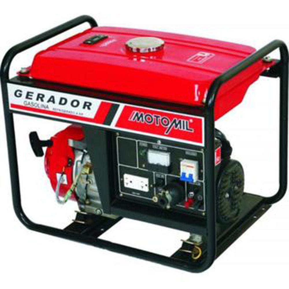 GERADOR GASOL.MONOF.6,5HP 2800W MG-3000CL MOTOMIL