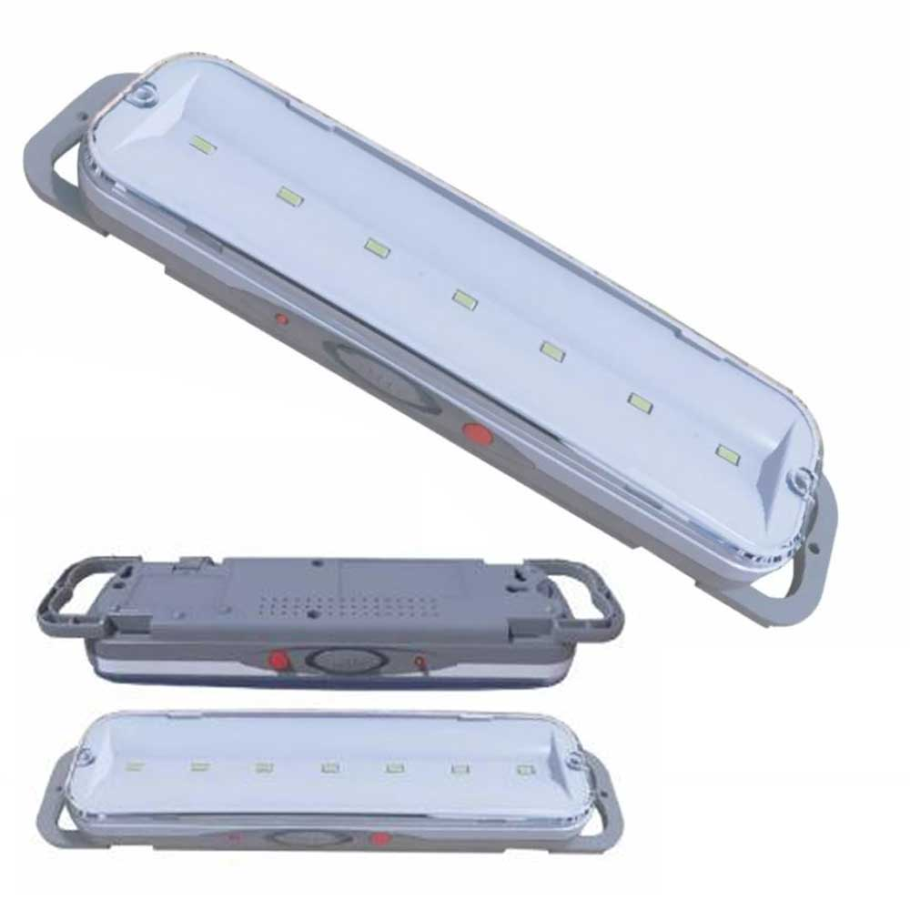 LUMINARIA EMERGENCIA C/7 SUPER LEDS 220V 1,5W 6000K  G-LIGHT