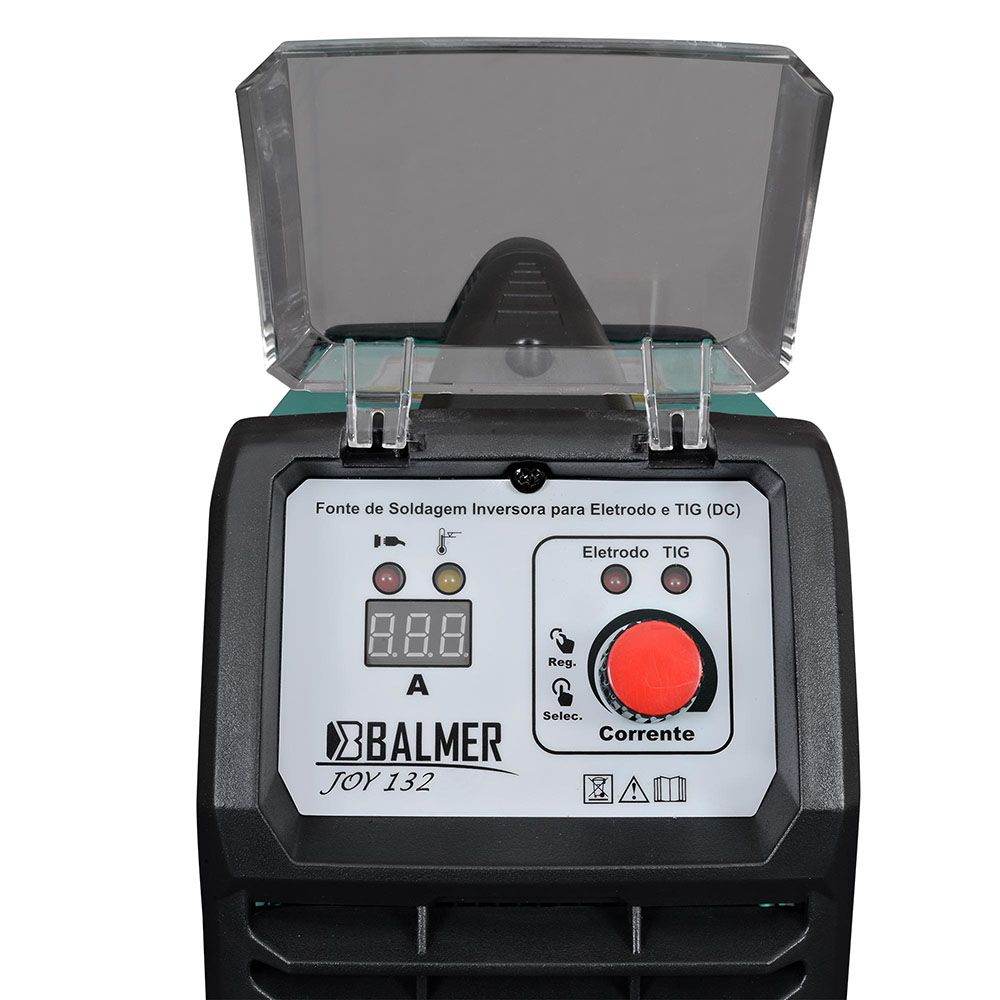 MAQ INVERSORA ELETR/TIG DC JOY 132 (220V) 30179526 BALMER
