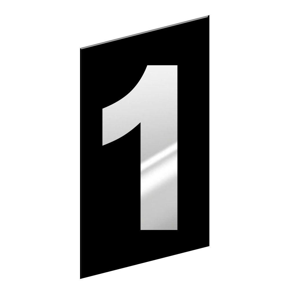 NUMERO RESIDENCIAL EM ESPELHO 01 DONATO