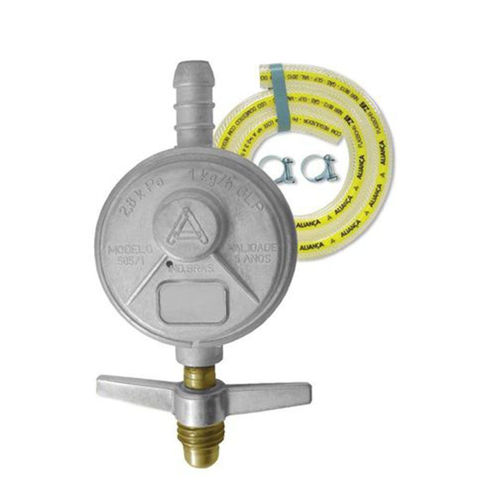 REGULADOR GAS 1 KG/H 505/01 C/MANG 1,20MT 066901 ALIANCA