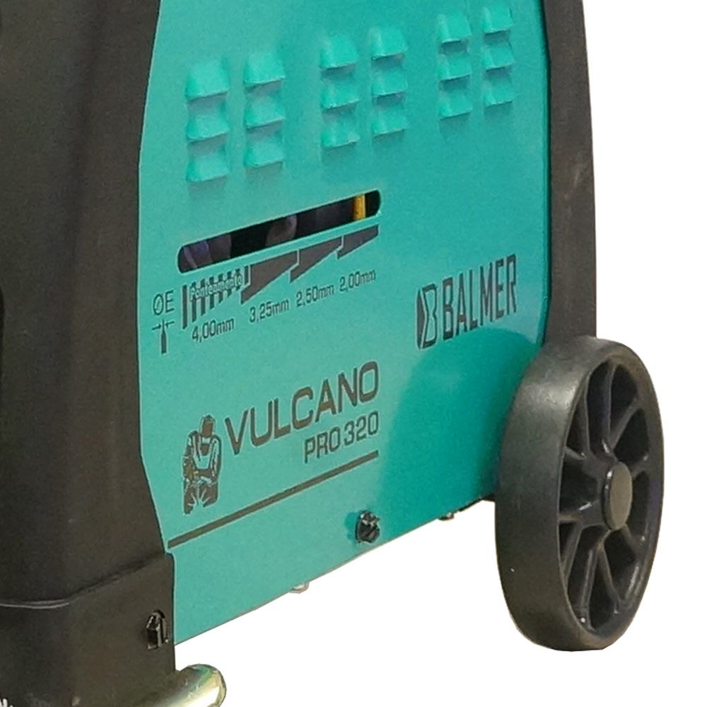 MAQ TRANSF VULCANO PRO320 C/RODAS 50-250A 30298902 BALMER