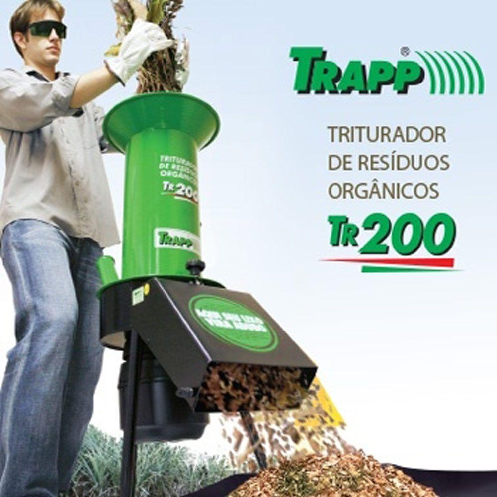 TRITURADOR DE RESIDUOS TR 200 2932430  TRAPP