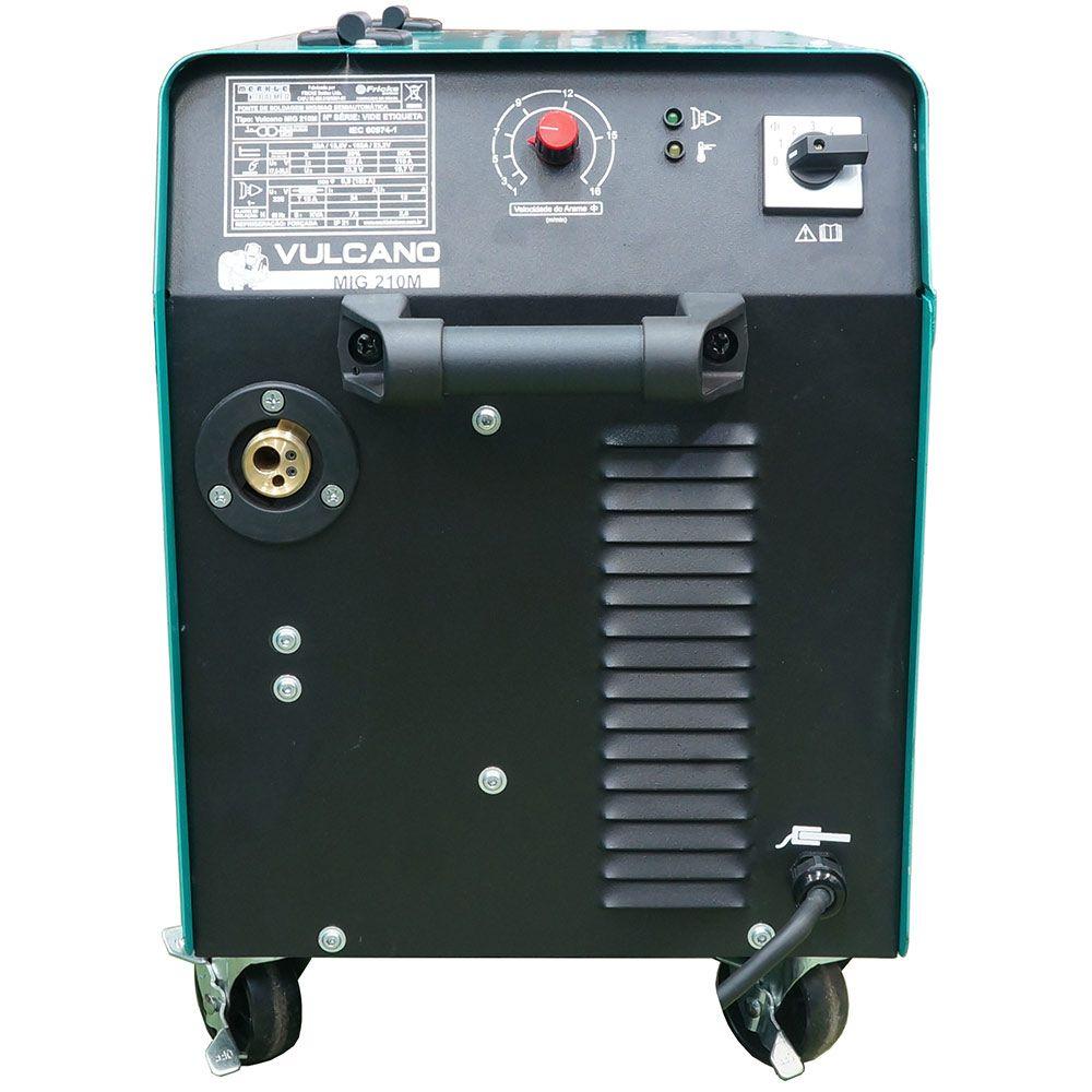 MAQ VULCANO MIG-210M C/TOCHA 30-185A 220V30080005 BALMER