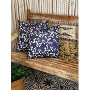 Almofada Galhos - Azul