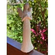 Anjo de Resina - Pombinha da Paz