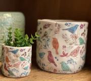 Cachepot Cerâmica Primavera