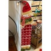 Calendario Fita - Boneco de Neve